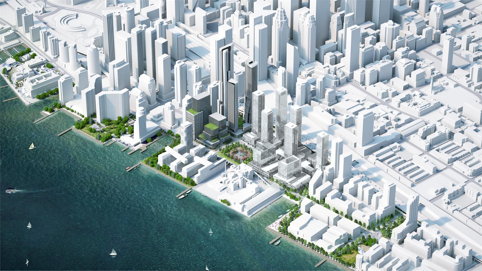 1 Yonge St Condo Development Location at Yonge & Queens Quay